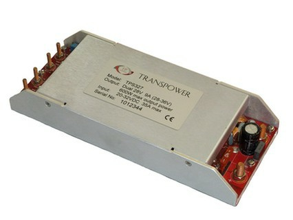TPS327  baseplate cooled 600W DC/DC converter